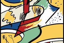 Mariscal Carteles / Javier Mariscal rescata sus carteles más icónicos realizados en los 80s y 90s. Los carteles se han remasterizado y se imprimen en papel Fine Art. #carteles #posters #digitalart #JAvierMariscal #artwork  #vintage
