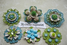 Paper flowers/designs