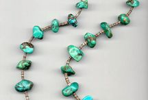 N A style turquoise