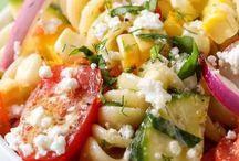 Pasta/salads to make!