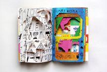 Unconventional sketchbook
