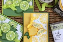SU Lemon Zest Stamp Set