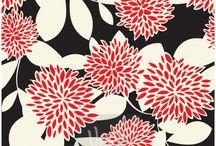motif bunga