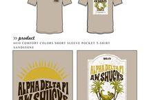 Alpha Delta Pi / Alpha Delta Pi custom shirt designs #alphadeltapi #adpi #adp  For more information on screen printing or to get a proof for your next shirt order, visit www.jcgapparel.com