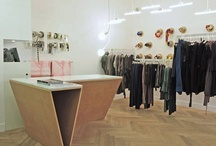 Shop interior design.
