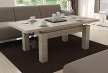 Ławostoły rozkładane i podnoszone / Uniwersalne meble do każdego salonu - ławy drewniane z możliwością rozkładania, lub podnoszenia blatu do funkcji stołu. Kluczowe zalety ławo stołu to możliwość jednoczesnego wykorzystywania jako stolika kawowego, lub stołu przy którym można spożywać posiłek. Najpopularniejsze modele znajdą Państwo na naszej stronie. Zainteresowanych innymi wymiarami prosimy o kontakt.