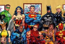 DC Comics / DC Comics, Inc. is an American comic book publisher. It is the publishing unit of DC Entertainment,[1] a company of Warner Bros. Entertainment, which itself is owned by Time Warner. DC Comics is one of the largest and most successful companies operating in American comic books, and produces material featuring many well-known characters, including Superman, Batman, Wonder Woman, Green Lantern, the Flash, Aquaman, Cyborg, Shazam (formerly Captain Marvel), and Green Arrow.