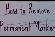 Remove permanent marker