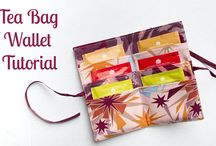 Tea bag wallets / by Karen Martin