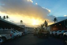 Hawaiian Sunsets and Sunrises / Start and end the day in the beautiful Hawaiian islands.