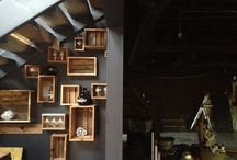 Tap Room Decor-Ideas / What to do with a blank commercial space. / by Peggy Mead