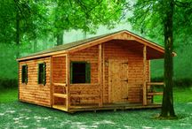 sim-pli-fy...Tiny Houses that work! / I live in a cabin. It is small.  I love it.  It loves me back. 'nuff said... / by Penny Barlett