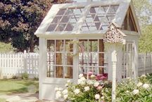 Outdoor-Greenhouse / Idea's / by Linda Finni