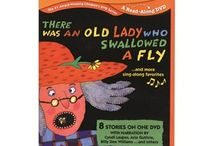 book nook: i know an old lady who swallowed a fly