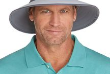 Men's Golf Style / Battle the course and the #sun at the same time with our Men's Golf Collection. Skin #Cancer is extremely common amongst male golfers and our UPF 50+ #polos, #pants and #hats are here to help change that.