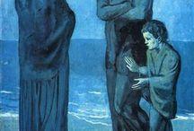 Picasso les bleus