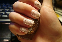 cool nail ideas / by Morgan Good