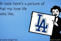 Little Miss Dodger Fan  / by Jessica Cabral