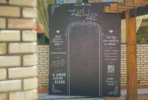 Chalkboards / Plaquinhas