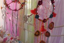 Atrapasueños / Glores.cintas y color