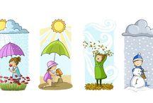Thema: De seizoenen/het weer