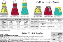 SEWING, PATTERNS, HOW-TOs / by Sherry Kyle
