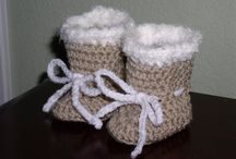 Crochet - Booties and Shoes