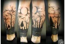 legs tattoo
