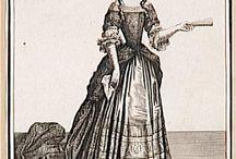 Mantuas, 1680s-1720s