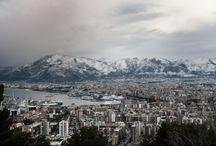 Snow in Palermo § Neve a Palermo / Dopo decenni ecco la neve. Evento epocale: 31 dicembre 2014