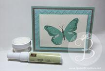 Beautiful Butterfly Cards / Beautiful Butterfly Cards by Lisa Ann Bernard of Queen B Creations, Stampin' Up! Independent Demonstrator
