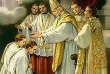 LET US PRAY FOR OUR BELOVED PRIESTS...AND FOR VOCATIONS. / by Patti Champion