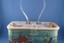 Vintage Lucite bags and purses