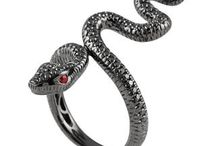 Animal Jewelry / Snake ring and other nature inspired creations