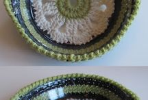crochet kitchen accessories