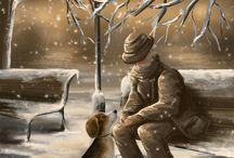 Paysages hivernals