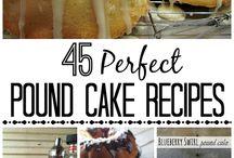 Recipes / Pound cake