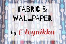 Fabric & Wallpaper by Oleynikka