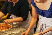 Pojedynek Kulinarny / Konkurs dla blogerów kulinarnych i amatorów gotowania na najlepszą pizzę. Foto z eventu dla naszego klienta restauracji Trattorii Soprano.