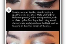 Makeup Ideas / Makeup ideas is a place to share your great looks. Browse our extensive collection of great makeup pins to find the look that is right for your big night. / by Sarah Jeffery