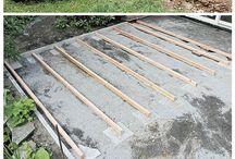 Garten Terrasse bauen DIY