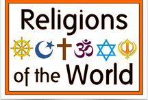 Religion Topic / World Religion, beliefs etc