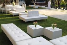 Outdoor seating lounge