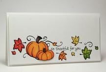 Thanksgiving cards / by DeAnn Helms