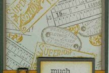 """Stampin Up, """"Aged To Perfection"""" Stamp Set"""