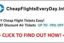 How to Get Cheap Flights! / Best Free Guide: Cheap Flights, Cheap Air Tickets, Discount Airfare, Cheap Travel, Cheap Holiday, Cheap Hotels, Cheap Car  Rentals, Cheap Travel Insurance, Best Free Cheap Travel Resource!  http://cheapflightseveryday.info / by Peter Sin Guili