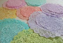 Doilies / by Angelique's Scraps ( digital scrapbooking)