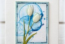 Paper craft and Cards to make --DIY / The Humble can not be replaced