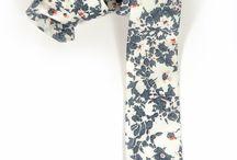 Flower ties / design, fashion