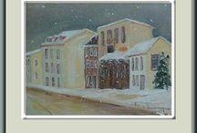 Paysages Hiver / Belle nature de notre bel hiver avec ses couleurs fascinantes et belles